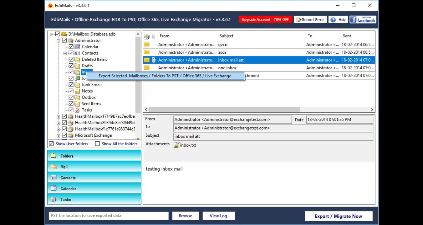 Fixing exchange unable to mount error - Image 1