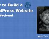 WordPress Website in a Weekend
