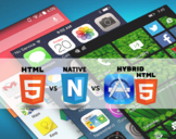 HTML5 vs. Native vs. Hybrid mobile application development: which one drives massive engagement of u...