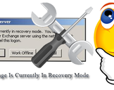 "OST file Error ""Exchange Is Currently in Recovery Mode""  - Resolved"