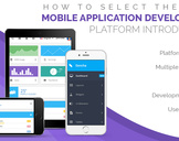 How to Select the Best Mobile Application Development Platform
