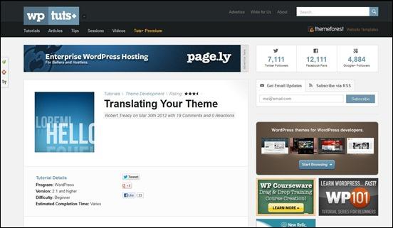 30 helpful WordPress Theme Tutorials and Resources - Image 1