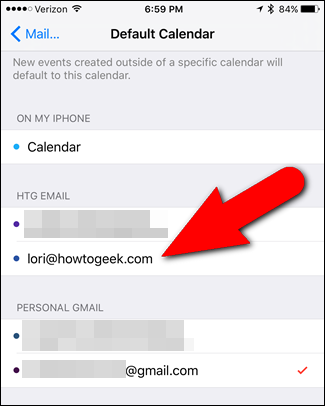 How to Set the Default Calendar for New Appointments in iOS and OS X - Image 5