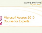 Learn Microsoft Access 2010 -The Expert Training-
