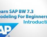 SAP BW 7.3 Introduction