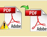 How to Fix Corrupt PDF Files With Ease !!!