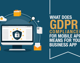 What Does GDPR Compliance for Mobile Apps Means for Your Business App?