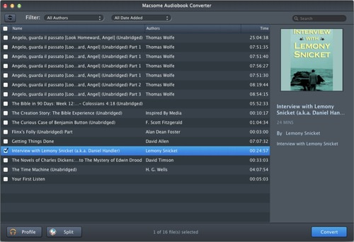 How to Convert AA/ AAX audiobooks to MP3 on Mac - Image 1