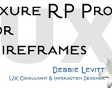 Axure RP Pro For Wireframes