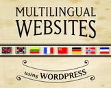 Create Multilingual Websites using Wordpress