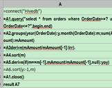 esProc Helps Process Heterogeneous Data sources in Java - Hive