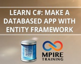 Learn C#: Make a Databased App with Entity Framework
