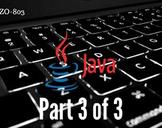 OCA Java SE 7 Programmer (OCAJP) Exam 1ZO-803 Part 3 of 3