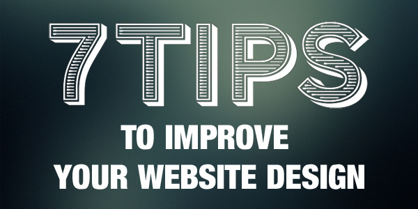 7 great tips for improving your web design - Image 1