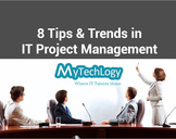 8 Tips & Trends in IT project management